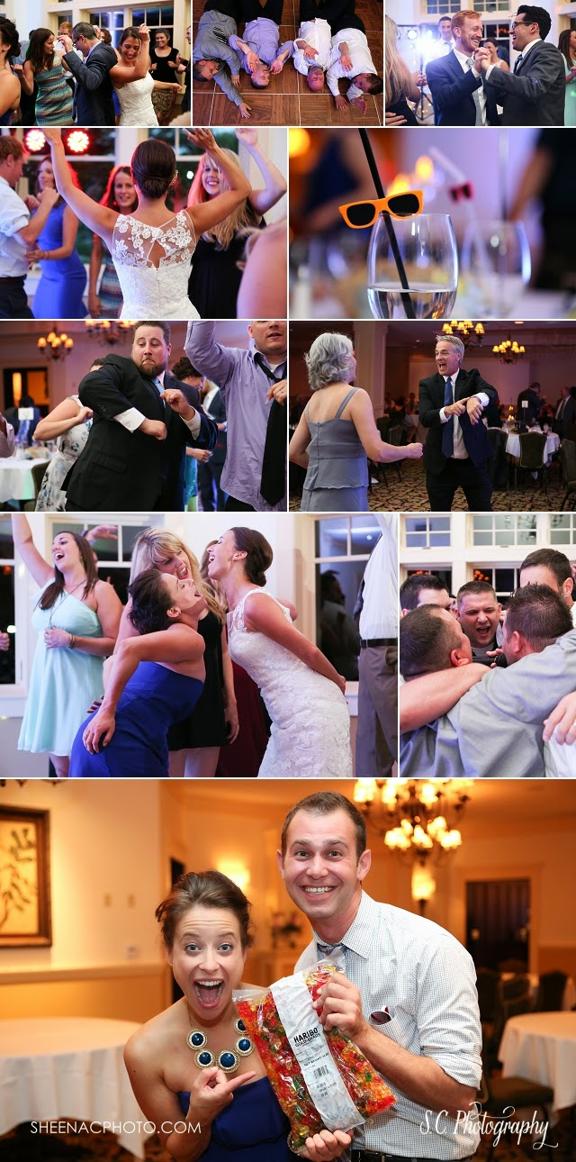 tullymore golf resort ball room reception dancing party wedding fun