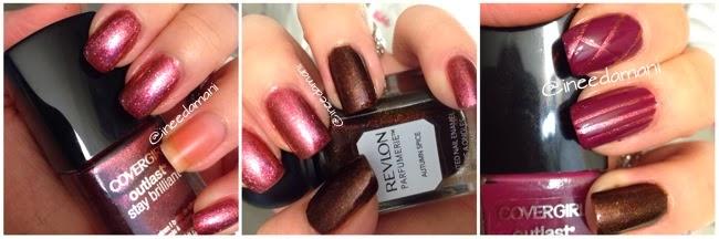 covergirl outlast timeless rubies covergirl outlast crushed berries revlon parfumerie autumn spice tape nail art