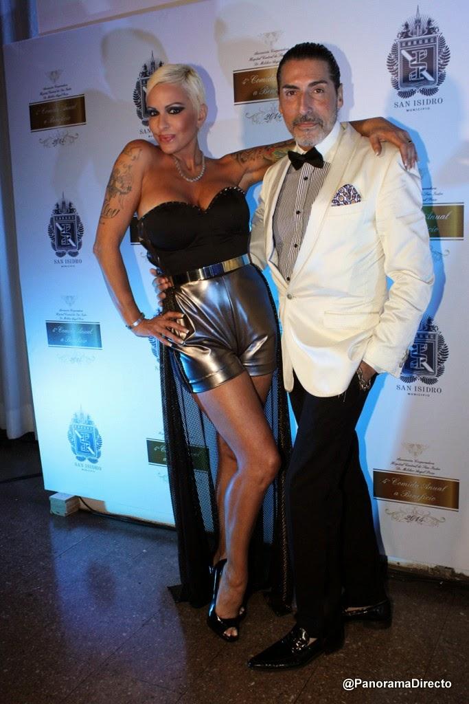 Cesar Juricich y Daniela Cardone