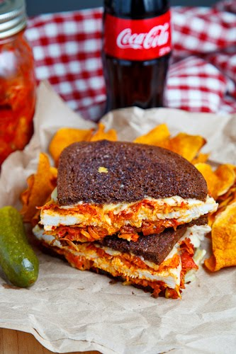 The Kimchi Rachel Sandwich (aka Roast Turkey Reuben Sandwich with Kimchi)