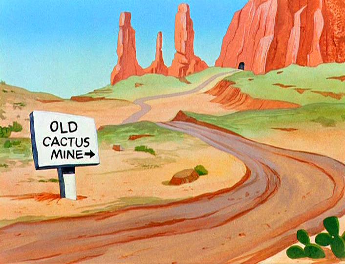 Looney tunes desert background - photo#12