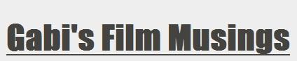 Gabi's Film Musings