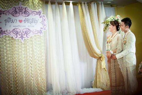 แต่งงานเช้าแบบไทย