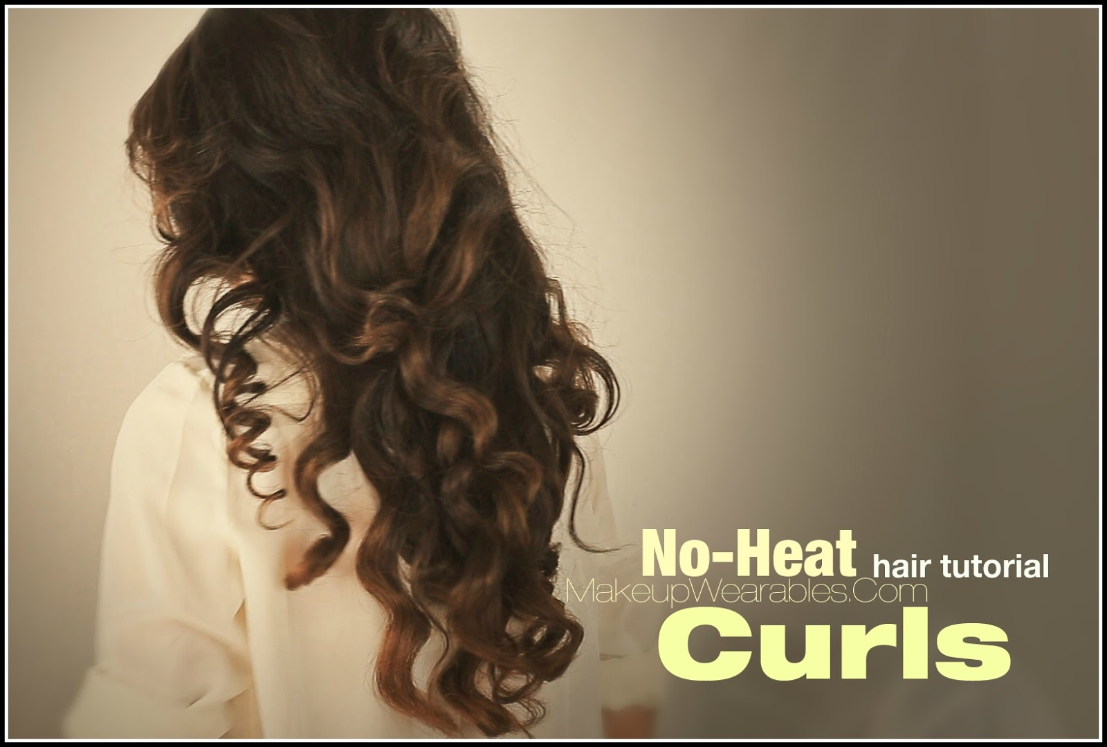 ... long hair tutorial video heatless curly wavy hairstyles hairdos