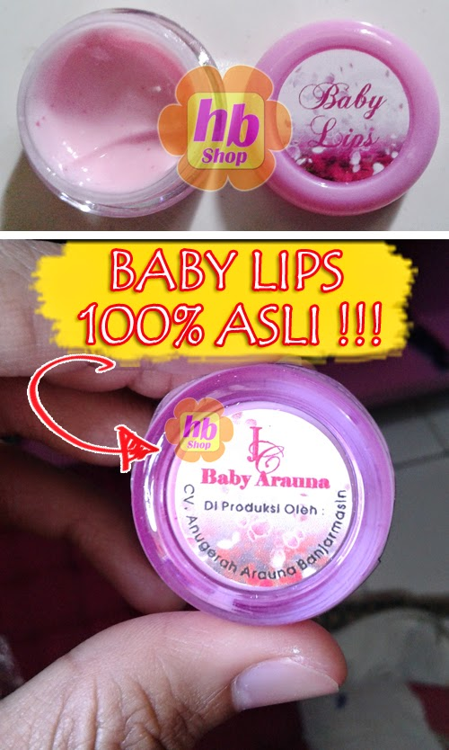 baby lips asli