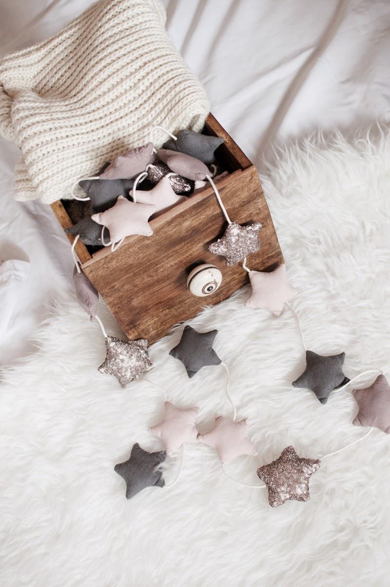 Christmas decoration, minimal style