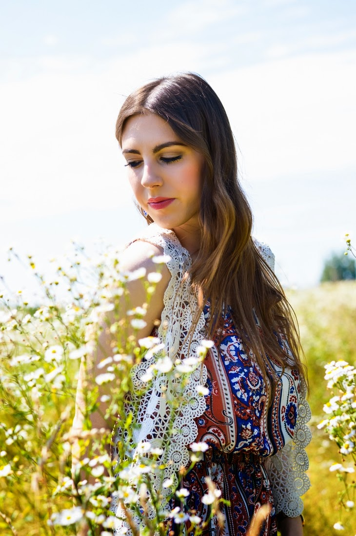 outfit boho tuta corta tutina romwe paisley romper boho bohochic retrò hipster hippie vintage zerouv saldi estate 2014 summer sale 2014 cross earrings orecchini croci  john lennon round sunglasses Zara Electric Blue Criss Cross Suede Sandals thesparklingcinnamon