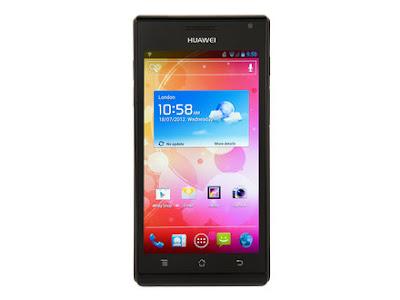 Huawei Ascend P1, Handphone Android Tertipis di dunia 7.69 mm
