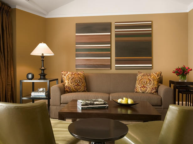 may be sounding bit boring but actually this color scheme for living room works very well all you have to do is to take care not of overdoing any - Living Room Colour Schemes 2011