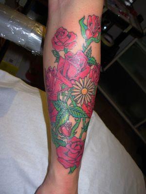 3D Fiori Tattoo