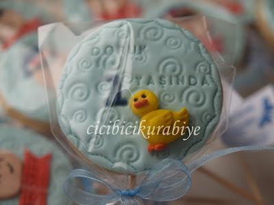 1 yaş kurabiyeleri,doğum günü kurabiyeleri