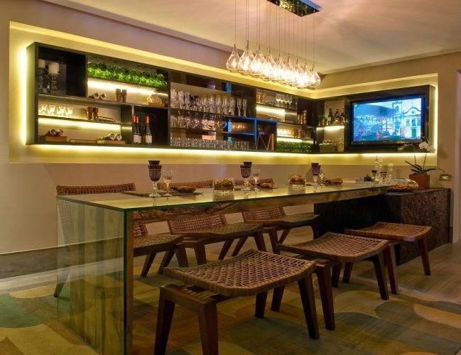 Bar em casa veja ideias simples e sofisticadas para - Bares para casas ...