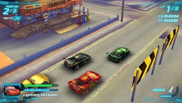 PS Vita Roundup: Cars 2 Revving up for PSP