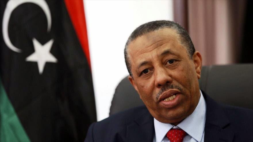 Premier libio acusa a EEUU de causar inestabilidad en Libia