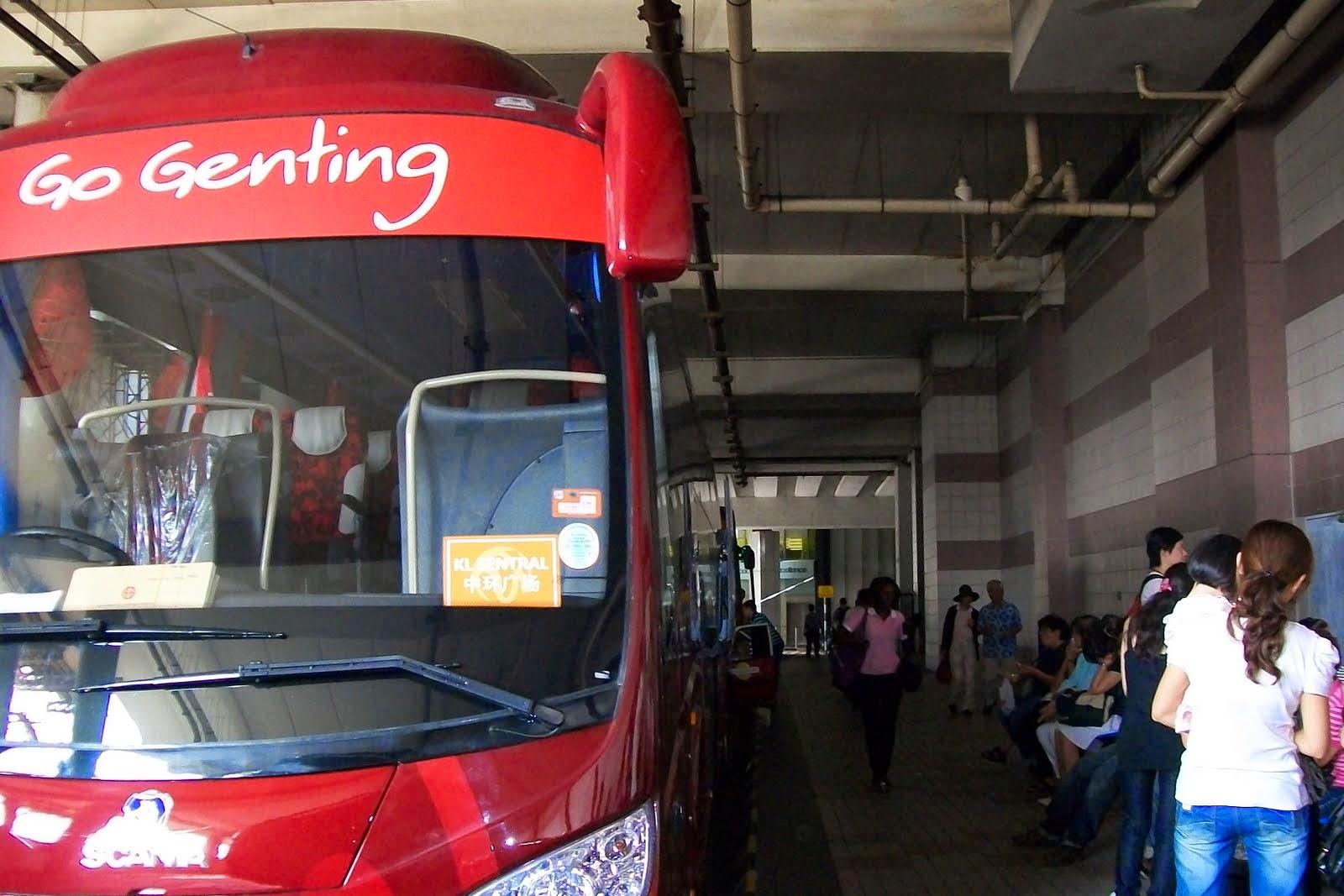 bus go genting