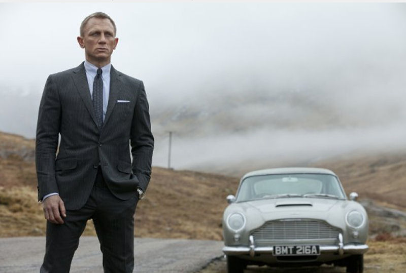1a 007 SkyFall. Mission: James Bond Parfume. Idee regalo per lui.