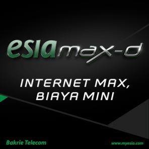 ESIA Max-D | Tarif Paket Internet