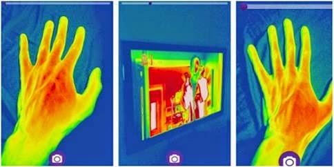Aplikasi Android Pengukur Suhu Panas Tubuh dan Ruangan