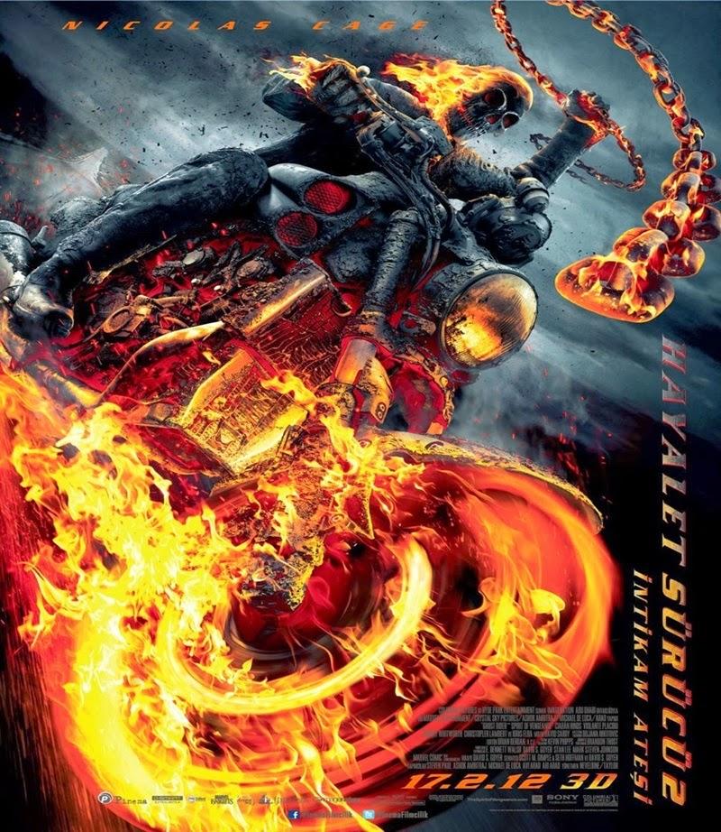 Hayalet Sürücü 2: İntikam Ateşi (2011) 1080p Film indir