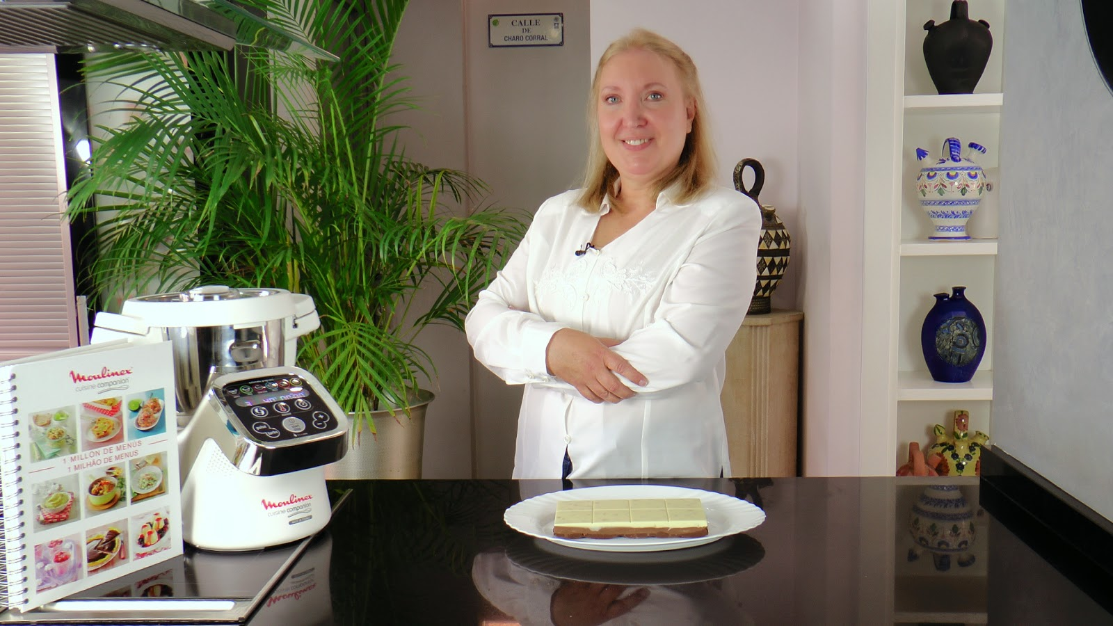 concurso cuisine companion de moulinex pasteles de colores. Black Bedroom Furniture Sets. Home Design Ideas