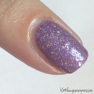 swatch of storm nail polish by f.u.n. lacquer