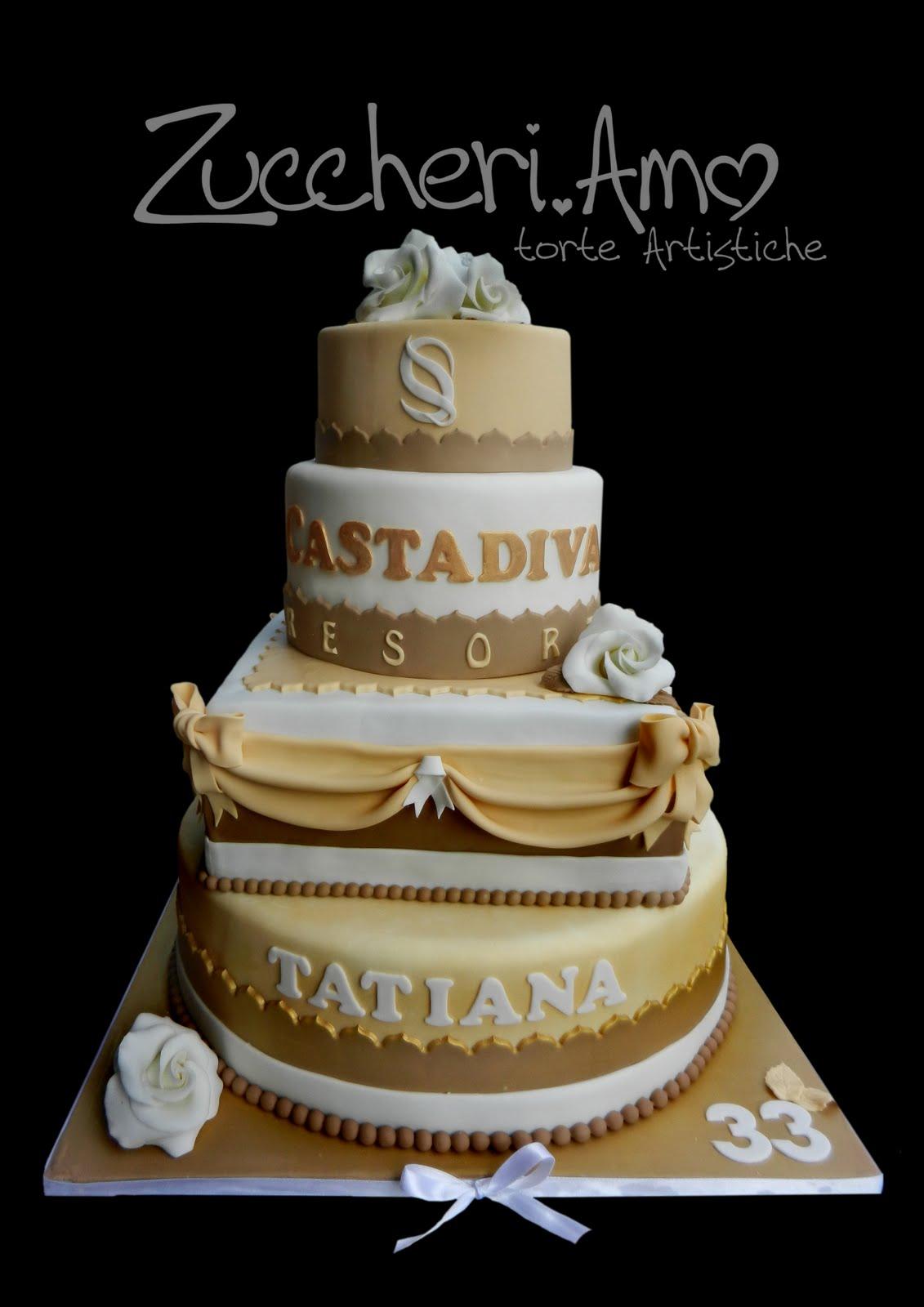 Torta 4 piani stile weddig cake for Piani in stile louisiana
