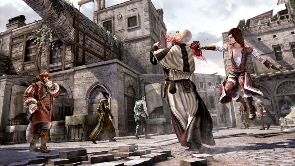ASSASSIN'S CREED BROTHERHOOD PC GAME.
