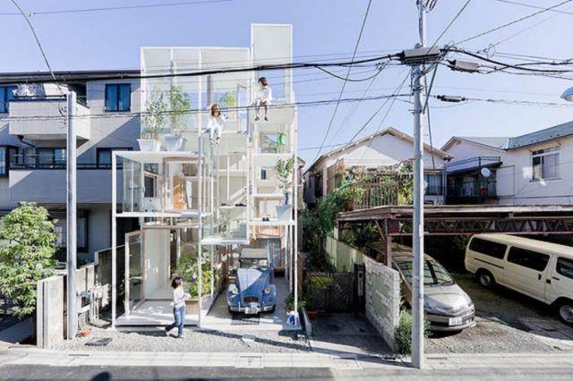 Transparent House - Tokyo