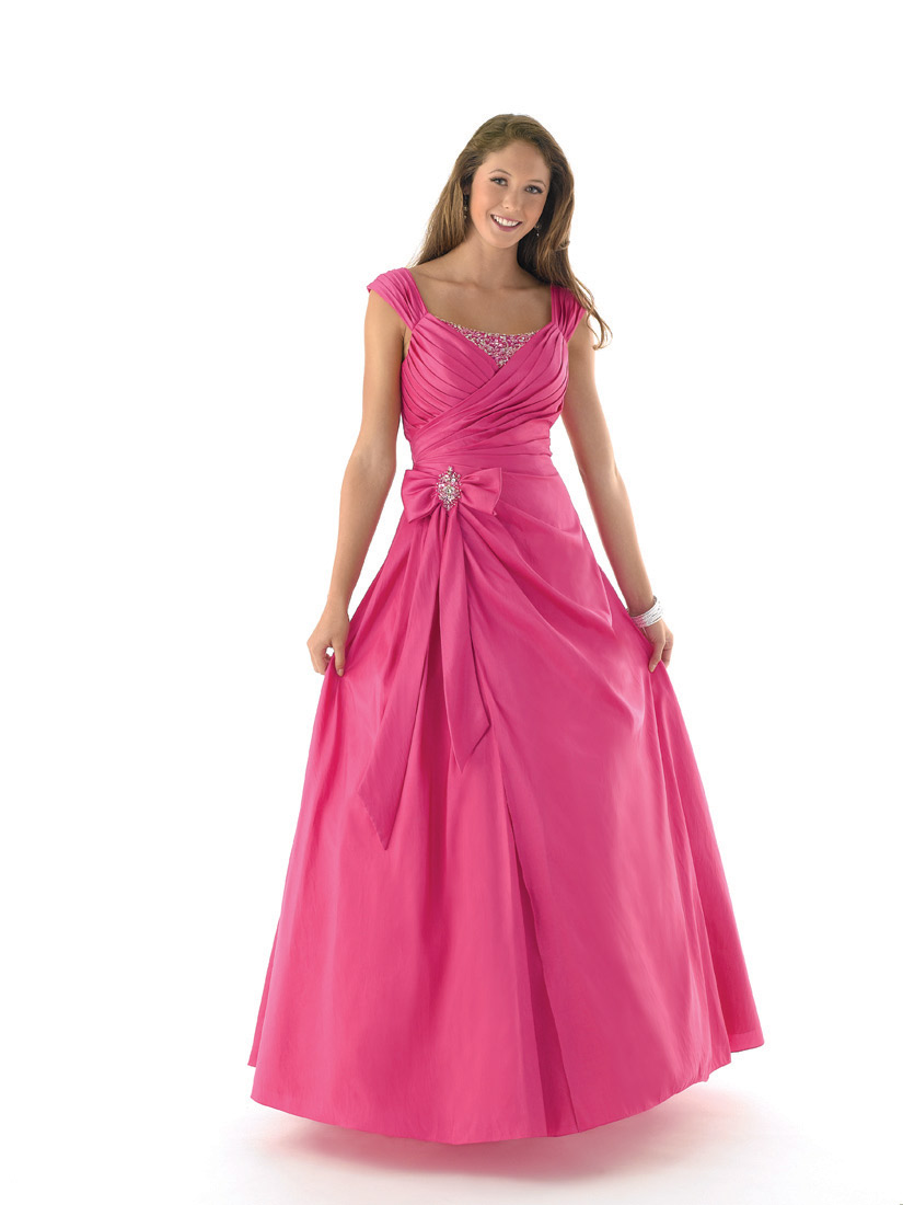 Lovely pink wedding dress gown