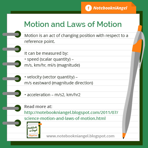 Motion and Laws of Motion
