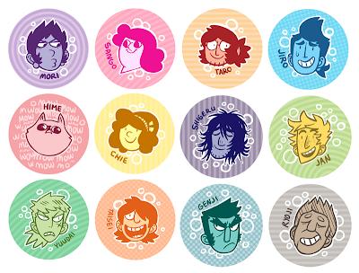Ein Überblick über die verschiedenen Charaktere, leichte Spoiler.
