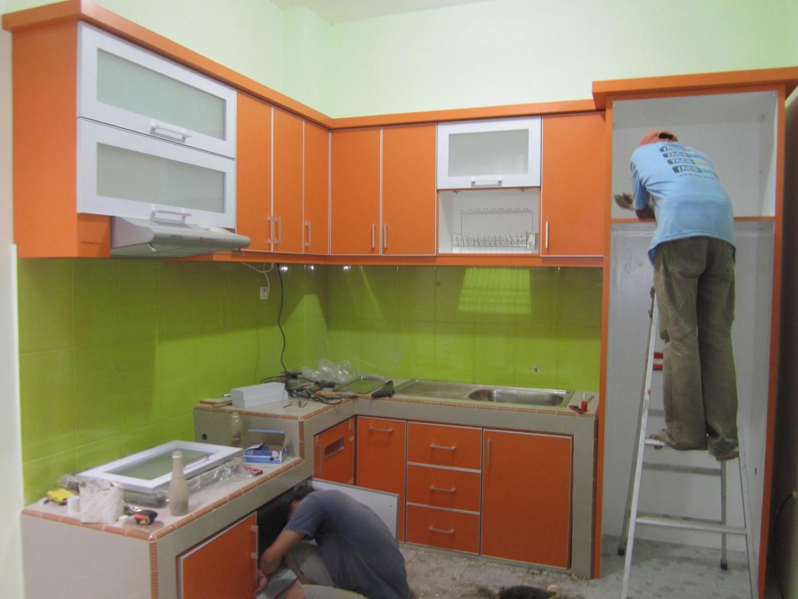 Kitchen Set Minimalis Lemari Pakaian Rak Tv Cabinet Murah Jakarta