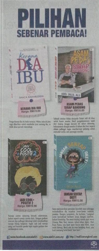 Pilihan Sebenar Pembaca