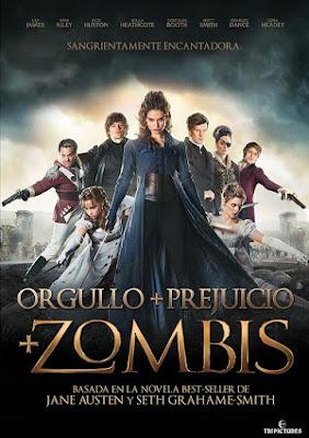 Orgullo Prejuicio y Zombis en Español Latino