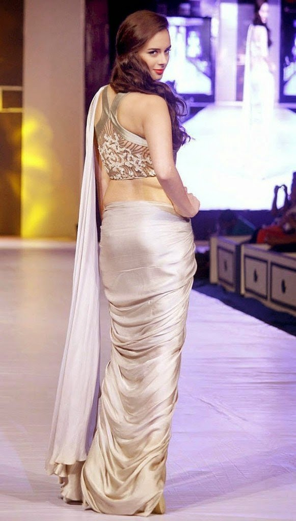 evelyn sharma hot backless photo