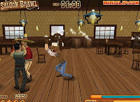 Saloon Brawl walkthrough.