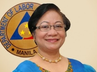 Secretary of Labor and Employment Rosalinda Dimapilis-Baldoz