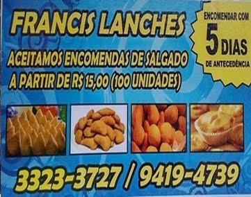 FRANCIS LANCHES - PARNAÍBA