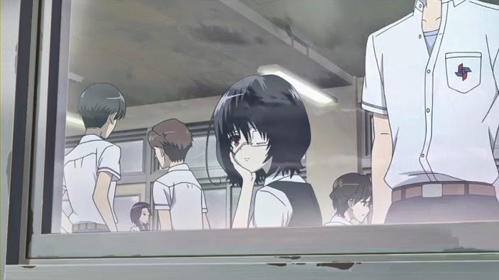 Hasil gambar untuk anime melihat dari jendela