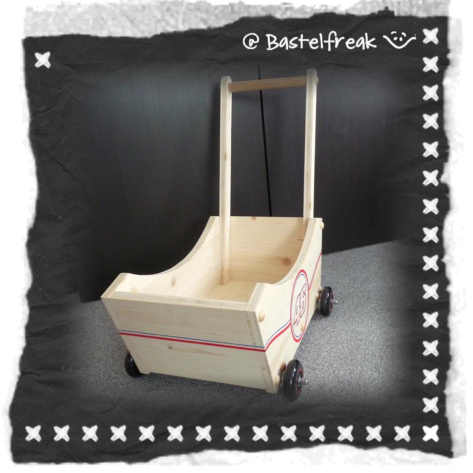 Puppenwagen Holz FUr 2 Jährige ~ Bastelfreak Kleiner Flitzer für kleine Flitzer