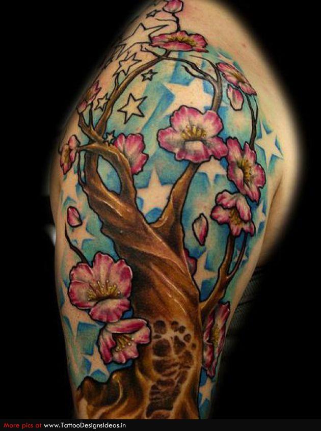 my tattoo designs cherry blossom tree tattoo