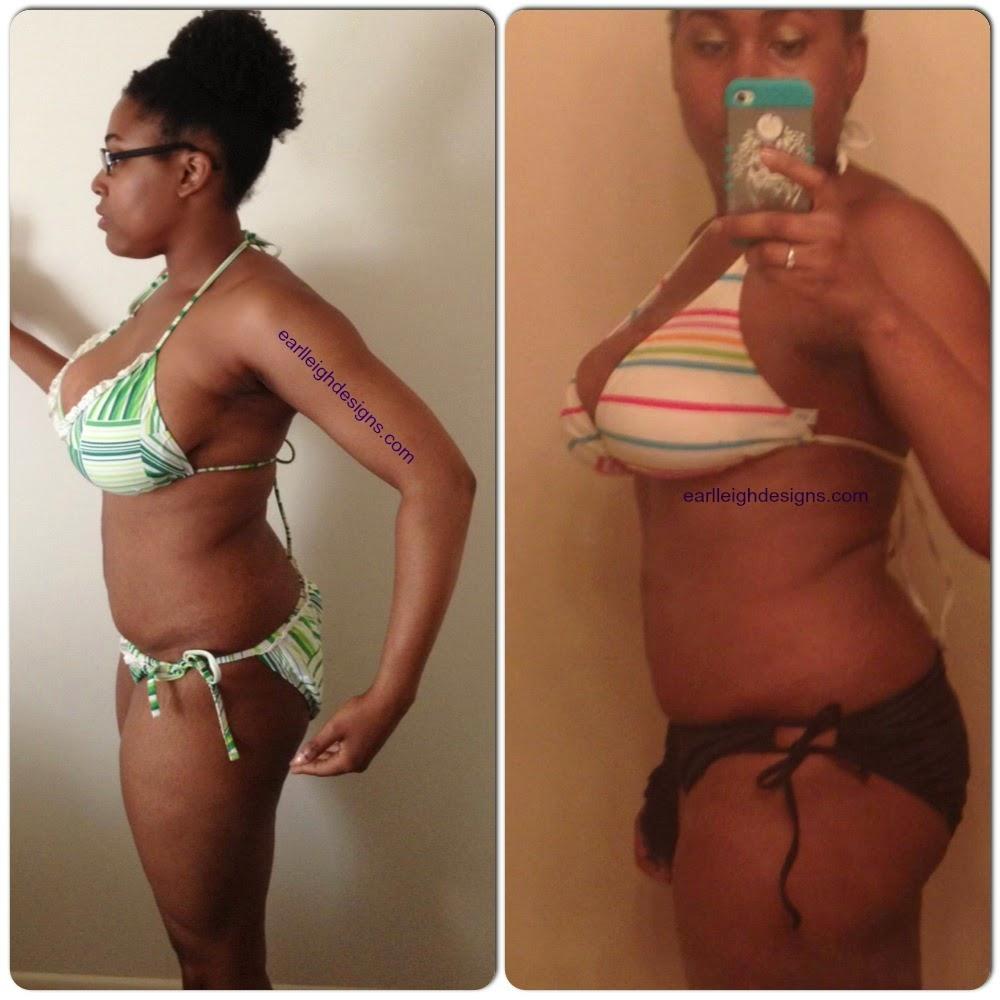 """TIU Bikini Series """"Before and After"""""""