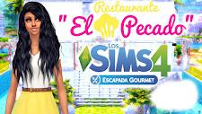 """SIGUE MI SERIE LOS SIMS 4 ESCAPADA GOURMET """"Restaurante el pecado"""""""