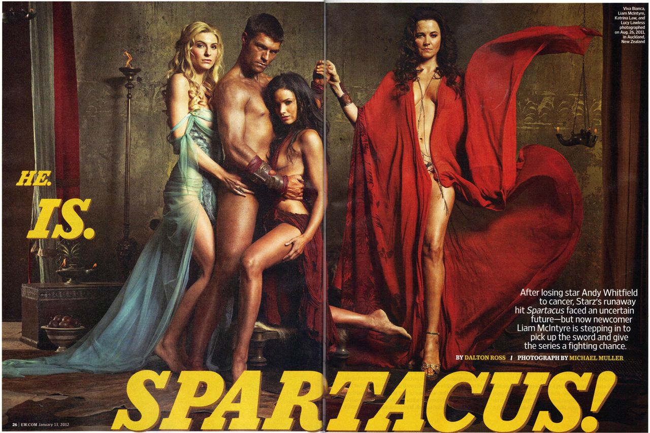 a pagan's life (for me): just because i can.spartacus vengeance cast