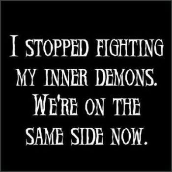 We are on the same side now funny life quotes pictures