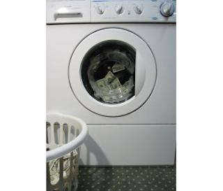 money laundering. Stock Photo credit: foobean01