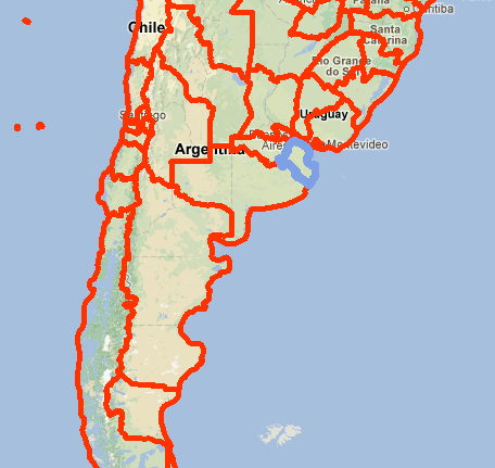 Hermana Newmans Adventures Where - Argentina map small