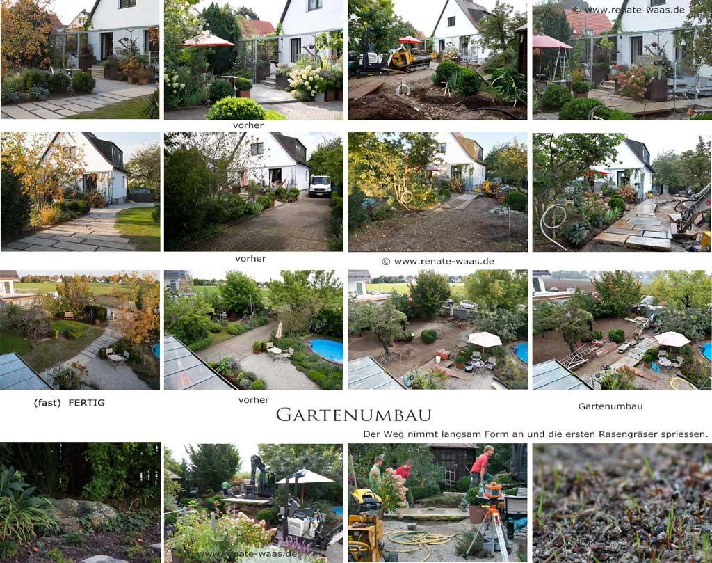 Zufahrt Landhausgarten neu gestalten - Wege im ländlichen Garten