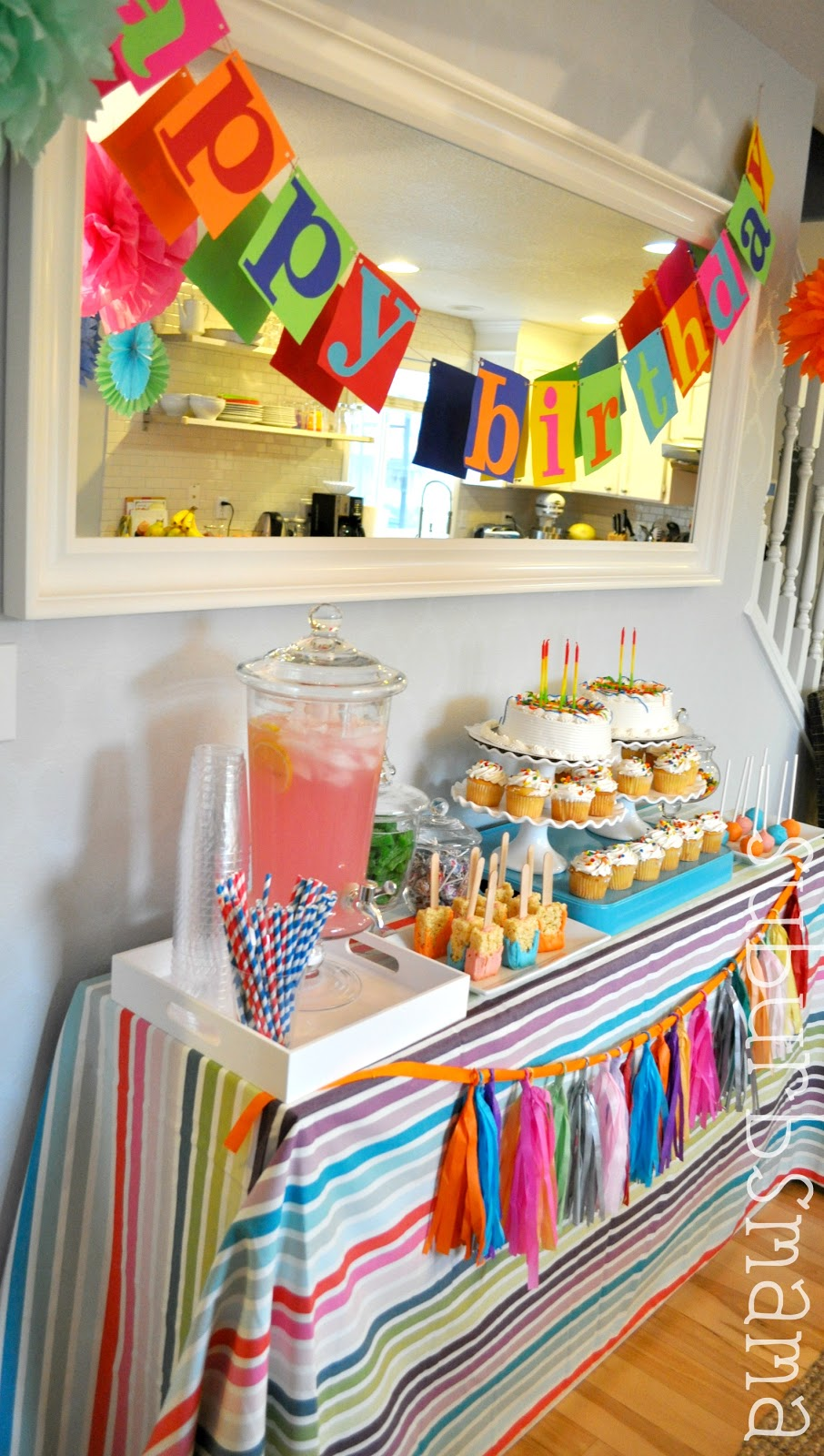 Suburbs Mama Kids Craft Birthday Party
