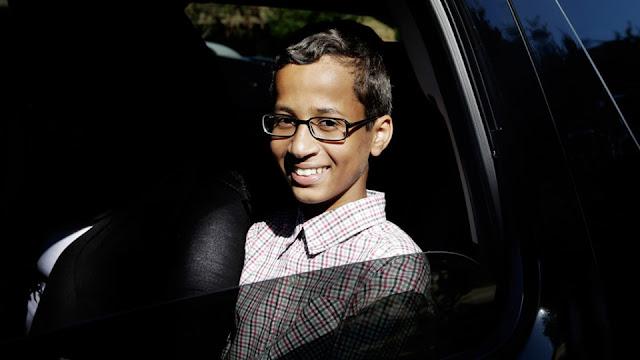 Ahmed Mohamed se reunió con Sergey Brin